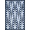 Ralph Lauren Home Holden Chevron Hydrangea Area Rug