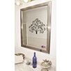 <strong>Jovie Jane Silver Rounded Wall Mirror</strong> by Rayne Mirrors