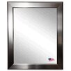 Rayne Mirrors Sleek Silver Wall Mirror