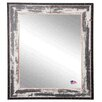 <strong>Rayne Mirrors</strong> Ava Rivet Trim Wall Mirror