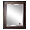 Rayne Mirrors Jovie Jane American Walnut Wall Mirror