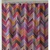 Collier Campbell Ziggurat Cotton Shower Curtain
