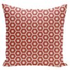 E By Design Holiday Brights Geometric Pillow