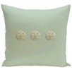 E By Design Decorative Three Sanddollars Pillow
