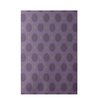 E By Design Decorative Geometric Purple/Green Area Rug