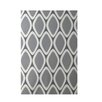 E By Design Decorative Geometric Dark Gray/Gray Area Rug