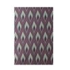 E By Design Decorative Purple Area Rug
