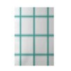 E By Design Decorative Geometric Aqua Area Rug