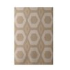 E By Design Decorative Geometric Beige/Taupe Area Rug