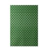 E By Design Decorative Geometric Green Area Rug