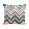 E By Design I-Kat U-Dog Chevron Decorative Pillow