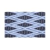 E By Design Ikat Diamond Dot Geometric Print Polyester Fleece Throw Blanket