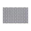 E By Design Diamond Mayhem Geometric Print Polyester Fleece Throw Blanket