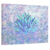 E By Design Coastal Coral Painting Print on Wrapped Canvas in Multi-color