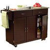 <strong>Kitchen Cart with Stainless Steel Top VI</strong> by TMS