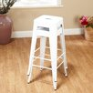 "<strong>TMS</strong> 30"" Avalon Metal Stackable Stool (Set of 2)"