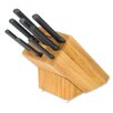 <strong>Rada Cutlery</strong> 9 Piece Colossal Oak Block with Knife Set