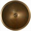 Linkasink Bronze Small Round Smooth Bathroom Sink