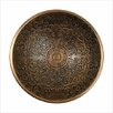 Linkasink Small Round Brocade Bathroom Sink