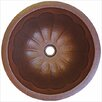 Linkasink Round Pumpkin Bathroom Sink