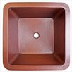 "Linkasink 20"" x 20"" Large Square Bar Sink"