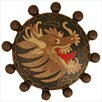 "<strong>Linkasink</strong> Cloisonne Beaded Dragon 1.5"" Pop-Up Bathroom Sink Drain"
