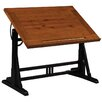 Reual James Et Cetera Pine Drafting Table