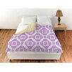 Thumbprintz Modern Geometric Lavender Duvet Cover