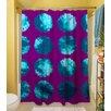 Thumbprintz Fuzzy Dots Shower Curtain