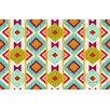 Thumbprintz Ikat Multi Rug