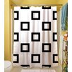 Thumbprintz Band Shower Curtain