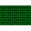 Thumbprintz Line Dots Emerald Rug