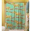 Thumbprintz Zebra Shower Curtain