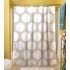 Thumbprintz Amina Polka Dot Shower Curtain
