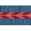 Thumbprintz Aztec Multi Chevron Rug