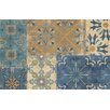 Thumbprintz Moroccan Patchwork Blue Rug