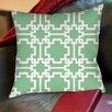 Thumbprintz Modern Geometric Mint Printed Pillow