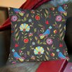 Thumbprintz Early Bird Printed Pillow