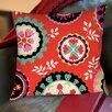 Thumbprintz Bird Berries Susani Printed Pillow