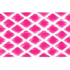 <strong>Diamonds Pink Rug</strong> by Thumbprintz