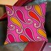 Thumbprintz Paisley Printed Pillow
