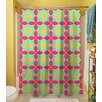 Thumbprintz Anima 2 Star Polyester Shower Curtain