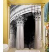 Thumbprintz A Travers Paris III Polyester Shower Curtain