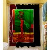 Thumbprintz African Beauty 1 Polyester Shower Curtain