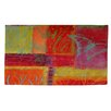 Thumbprintz Butterfly Impressions Orange/Green Rug