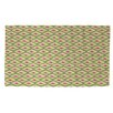 Thumbprintz Butterfly Diamond Green/Pink Area Rug