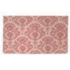 Thumbprintz Damask Pattern Pink Area Rug