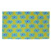 Thumbprintz La Roque Summer Starburst Yellow/Blue Area Rug