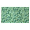 Thumbprintz Sultry Blues Seafoam Rug