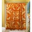 Thumbprintz Mosaic Polyester Shower Curtain